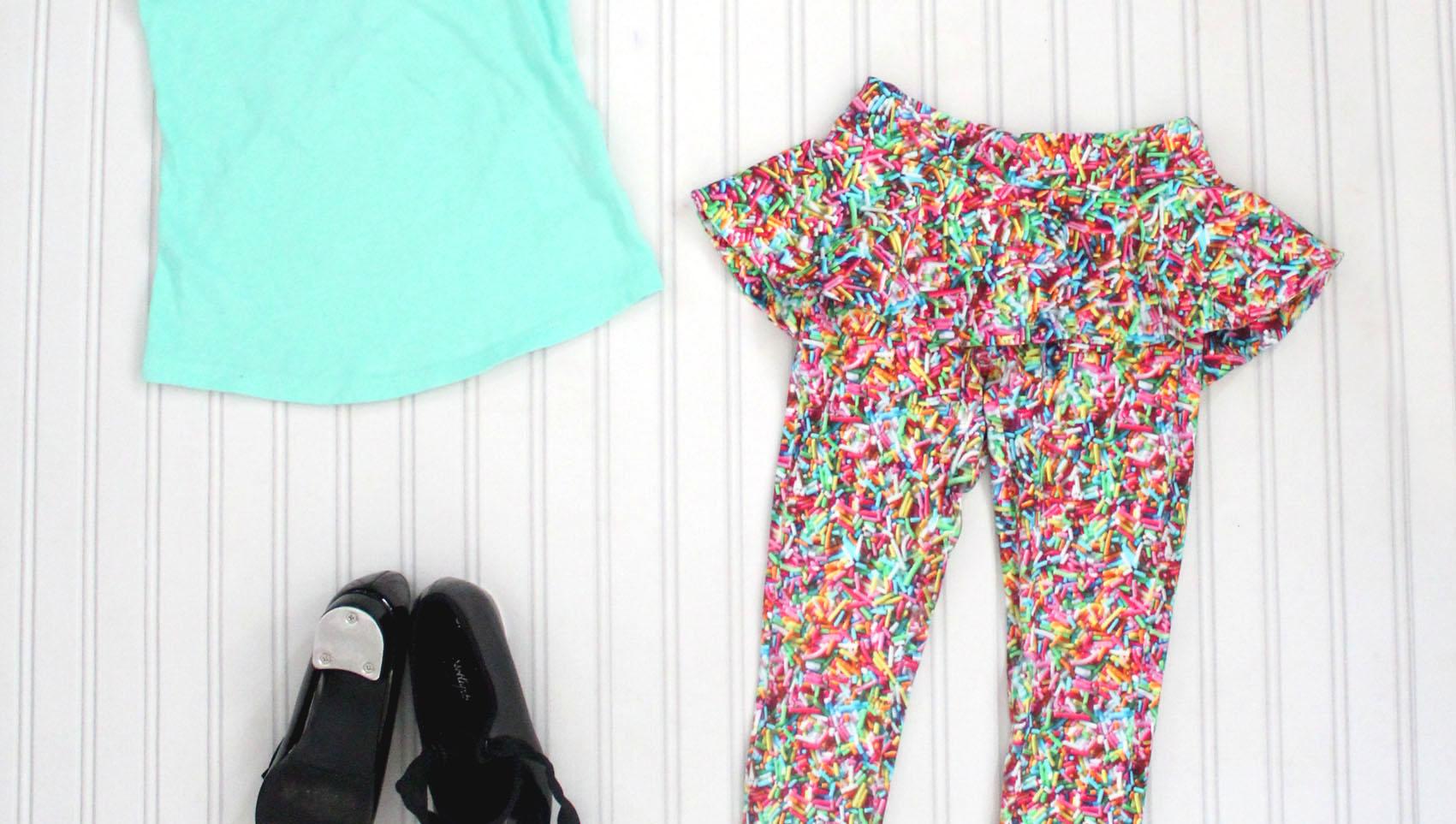 Poppy's Peplum Pants PDF Sewing Pattern by Filles a Maman