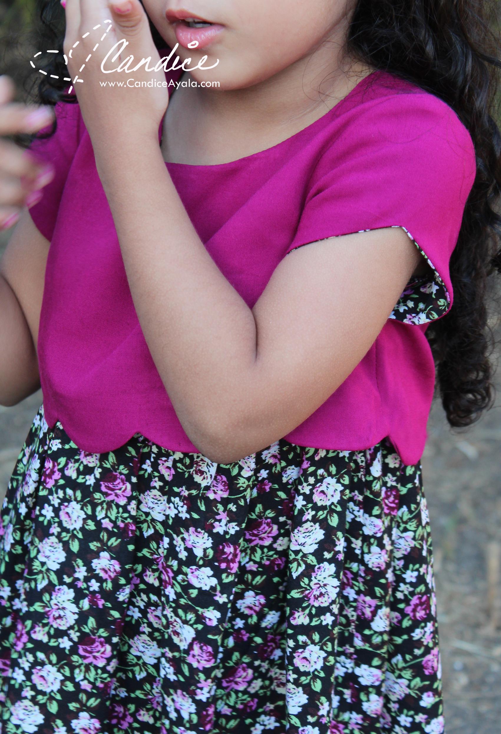 The Sullivan Dress by Sew Much Ado sewn by Candice Ayala of CandiceAyala.com
