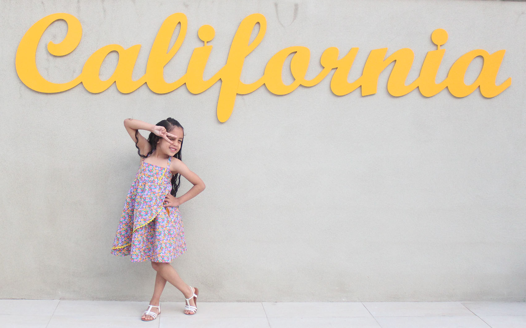 Girls Spring & Summer Dress: Butterick 5020