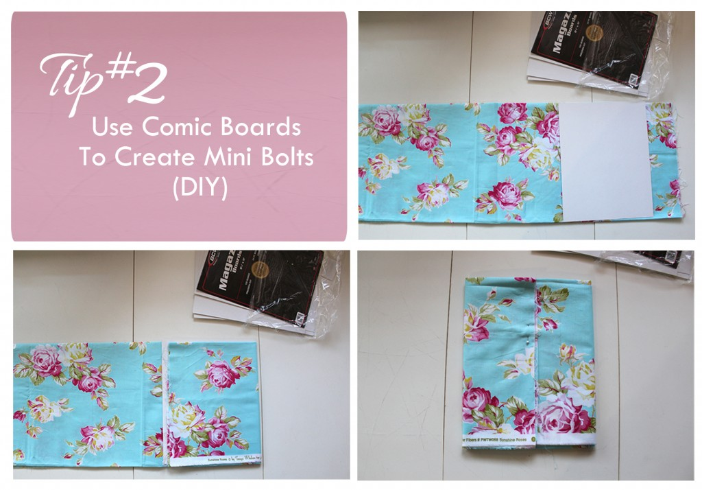 foldingfabricusingcomicboards