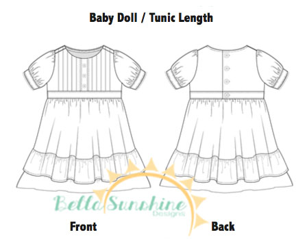 Bella Sunshine Designs Sweet Lily Tunic