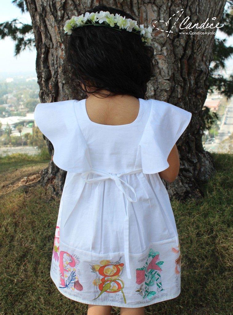 The Mori Dress & Top PDF Sewing Pattern using Nature Walk Fabric from Tamara Kate for Michael Miller Fabrics