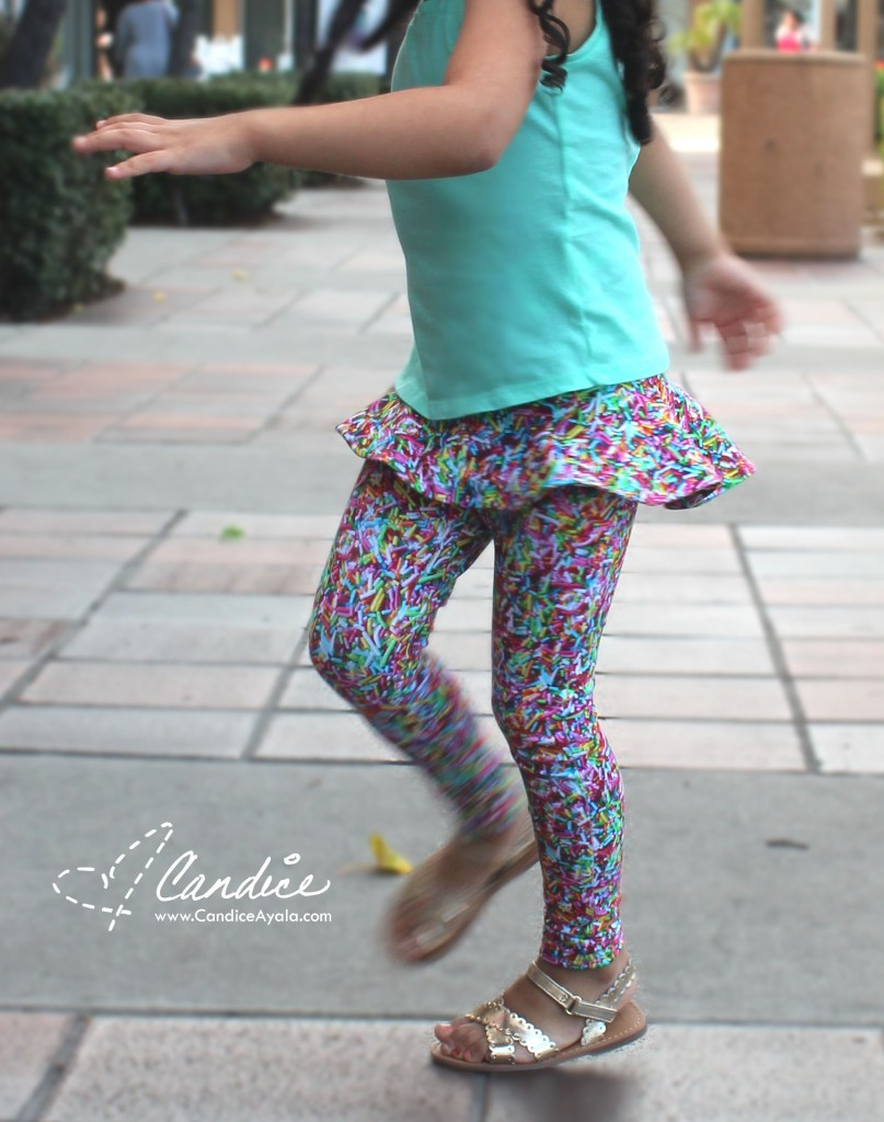 Poppy's Peplum Pants - PDF Sewing Pattern by Filles a Maman