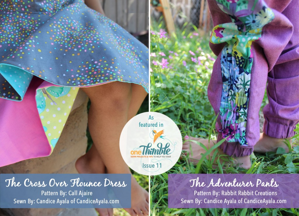 One Thimble Issue 11 Blog Tour Sews by Candice Ayala