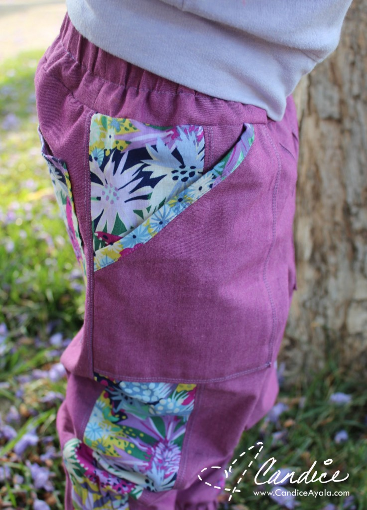 The Adventurer Pants PDF Sewing Pattern by Rabbit Rabbit Creations Sewn by Candiice Ayala