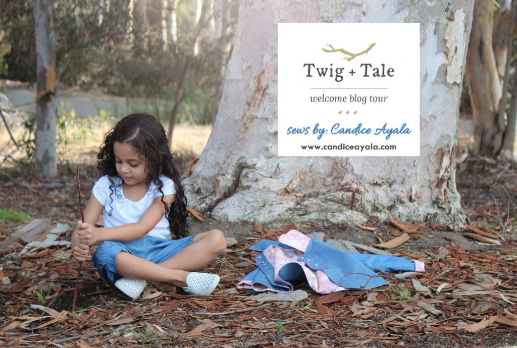 Twig + Tale Welcome Blog Tour - The Pixie Pea Coat and Pixie Pants sewn by Candice Ayala of CandiceAyala.com