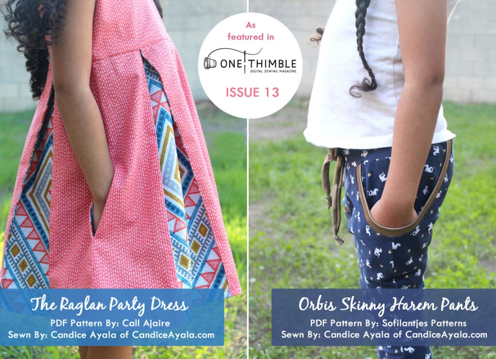 One Thimble Issue 13 Blog Tour