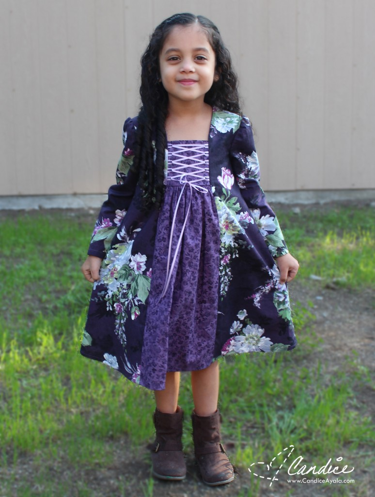 The Annaliese Dress PDF Pattern by MCM Studios sewn by Candice Ayala