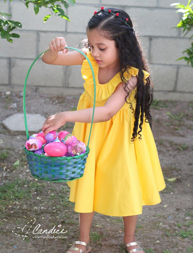 Belle Inspired Tea Party Dress PDF Pattern by Tadah Patterns Sewn by Candice Ayala
