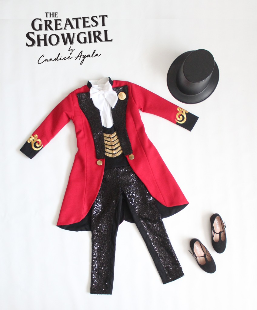 The Greatest Show Girl Upcycled Outfit sewn by Candice Ayala of CandiceAyala.com