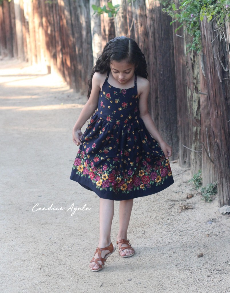 DIY Upcycled Dress by Candice Ayala