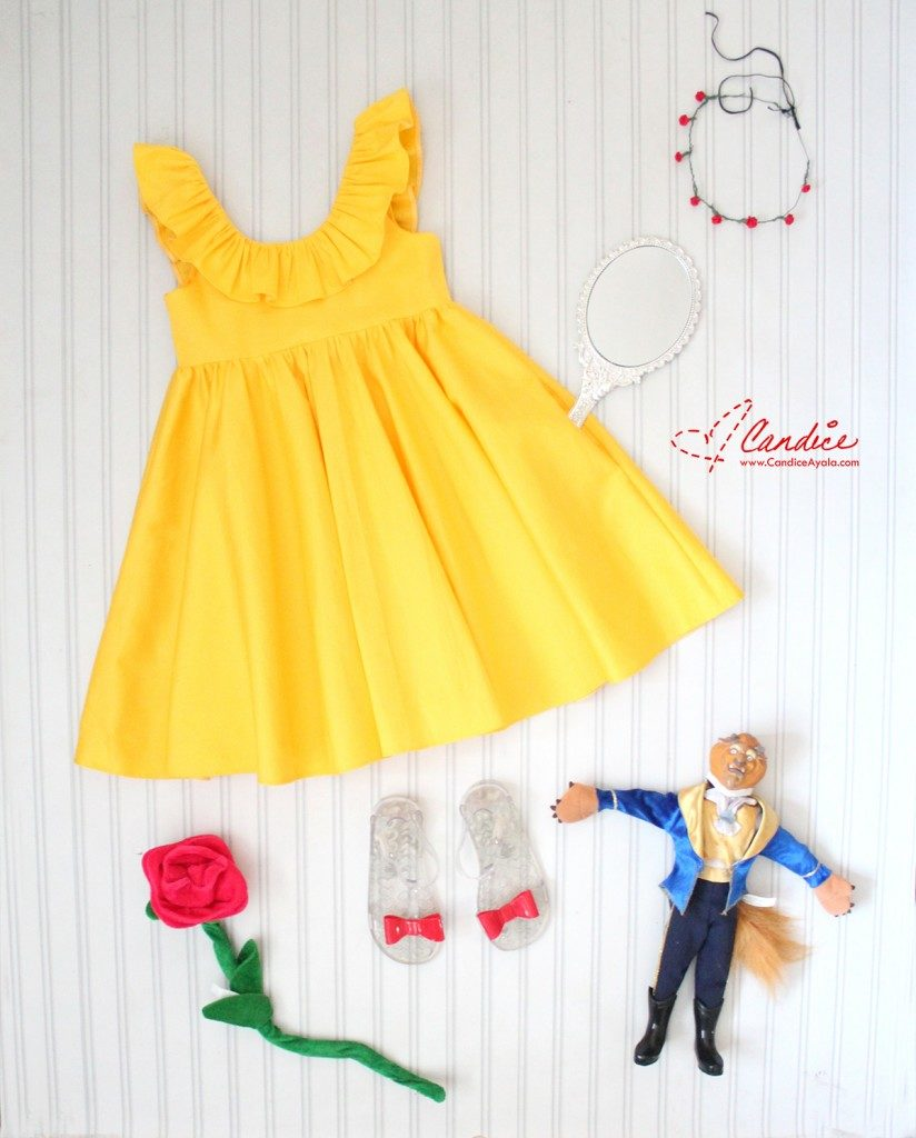 Belle Inspired Yellow Dress