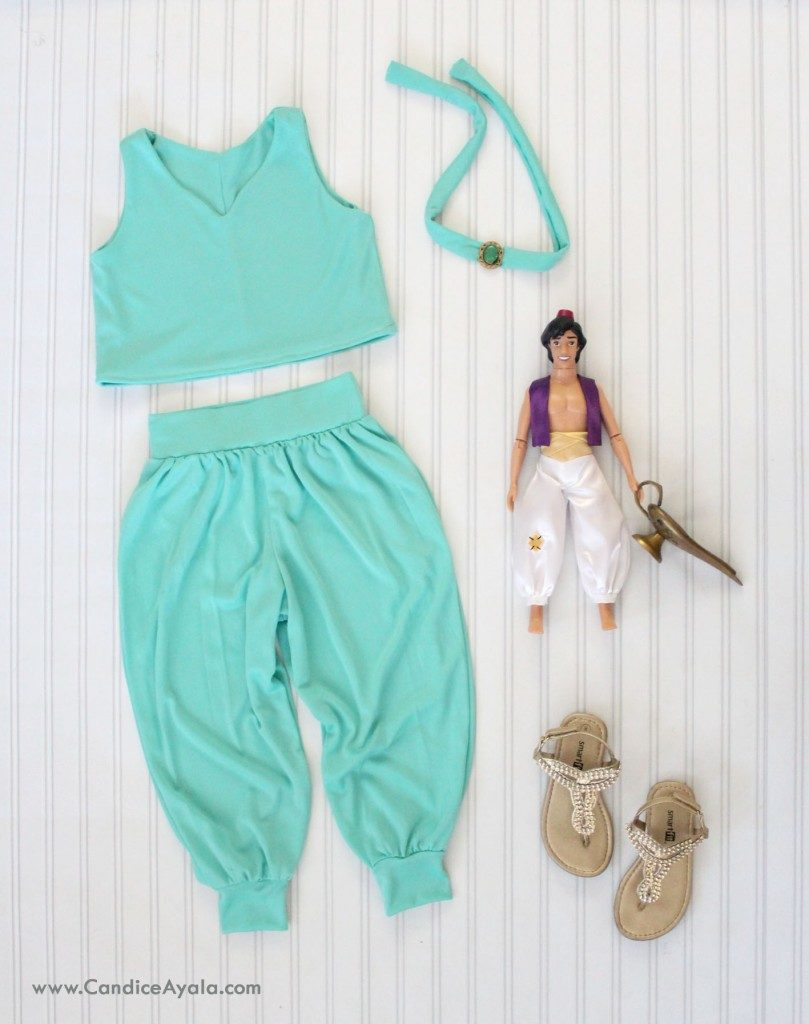 Jasmine Inspired Outfit from Alladin