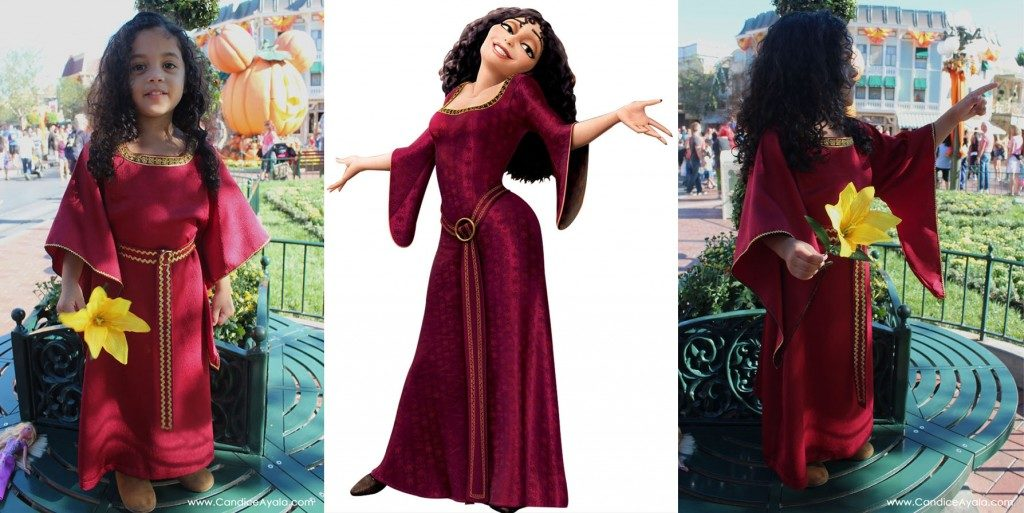 Mother Gothel from Rapunzel Dress